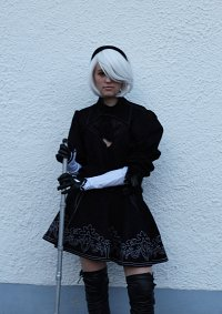 Cosplay-Cover: 2B - Normales Outfit