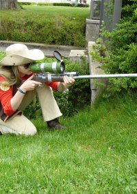 Cosplay-Cover: RED Sniper