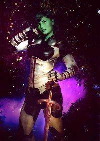 Cosplay-Cover: Gamora (Comic)