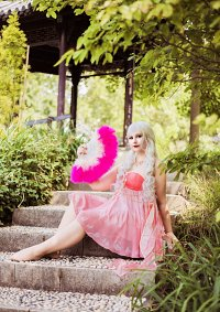Cosplay-Cover: Flamingo feather garment song series