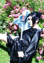 Cosplay-Cover: Uchiha Sasuke (Kimono Fanversion)