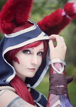 Cosplay-Cover: Xayah