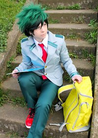 Cosplay-Cover: Izuku Midoriya / Deku [School]