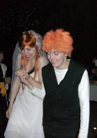 Cosplay-Cover: Inoue Orihime (Wedding Dress)