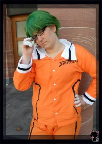Cosplay-Cover: Midorima Shintarou [Shutoku Trainingsanzug]