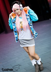 Cosplay-Cover: Super Sonico