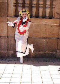 Cosplay-Cover: Rikku White Mage