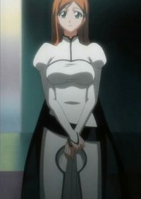 Cosplay-Cover: Orihime Inoue (Arrancar-Outfit)