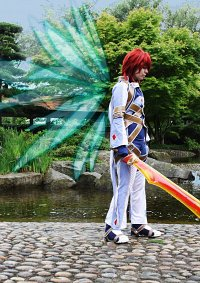 Cosplay-Cover: Kratos Aurion [Judgment ingame]