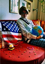 Cosplay-Cover: Alfred F. Jones [USA] (Gakuen)