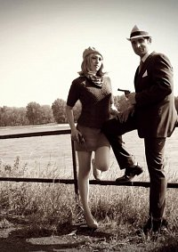 Cosplay-Cover: Clyde Chestnut Barrow (Bonnie und Clyde)