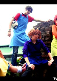 Cosplay-Cover: Ken (Blumenladenversion)