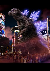 Cosplay-Cover: Godzilla