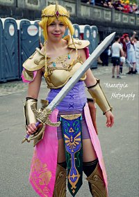 Cosplay-Cover: Queen Zelda- Hyrule warriors