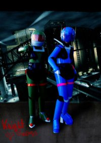 Cosplay-Cover: Priss Hardsuit