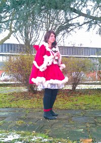 Cosplay-Cover: Weihnachtsfrau