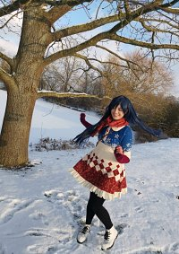 Cosplay-Cover: Umi Sonoda Winter Holiday Unidolized