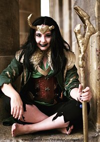 Cosplay-Cover: Loki (Agent of Asgard - Goddess of Stories)
