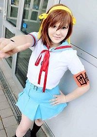 Cosplay-Cover: Haruhi Suzumiya - Sommeruniform