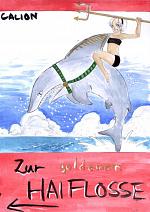 Cover: Zur goldenen Haiflosse (cil 2007)