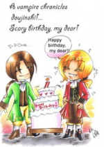 Cover: Scary birthday, my dear!!
