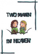 Cover: Two Mann in Heaven