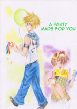Cover: a party made for you!