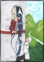 Cover: thousand ways for Kanda and Allen