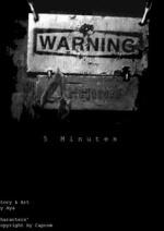 Cover: // 5  M i n u t e s //  *Resident Evil*