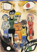 Cover: -Naruto -  sore wa boku no ninja-dô da