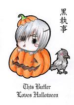Cover: Kuroshitsuji- This Butler Loves Halloween