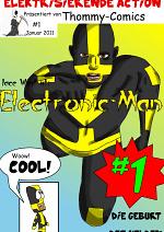 Cover: Electronic-Man (Leseprobe)