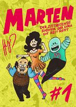 Cover: Marten - Der zeitreisende Roboter der durch die Zeit reist.