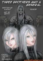 """Cover: """"FF7/Advent Children - Three brothers and a general"""""""