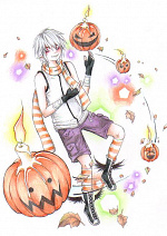 Cover: The pumpkin king