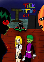 Cover: Teentitans Go! Black Shadows Action!