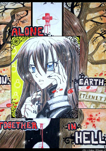 Cover: Alone on Earth together in Hell