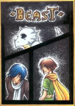 "Cover: ""BEAST"" - Manga Talente 2008"