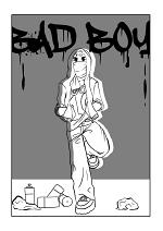 Cover: Bad Boy - 12h Comic
