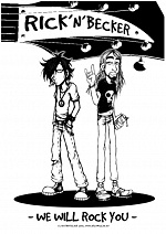 Cover: RICK'N'BECKER - We Will Rock You! ^-^