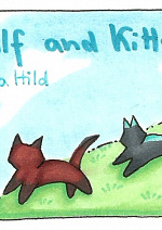 Cover: Wolf and Kitten