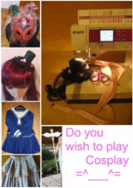 Cover: Do you wish to play Cosplay  ^.^