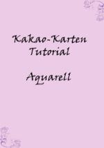 Cover: Tutorial Kakao-Karte Aquarell