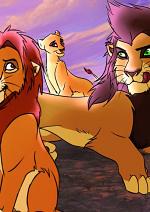 Cover: Der König der Löwen - Brüder und Schwestern (Titel nicht endgültig!)