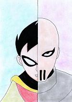 """Cover: """"Teen Titans"""" Zwei Seiten einer Medallie"""