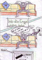 """Cover: Wo die Engel wirklich """"hocken"""""""