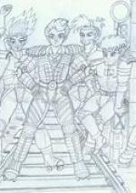 Cover: Rusty gegen Greaseballs Gang
