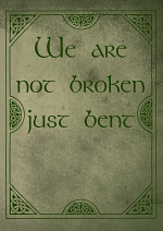 Cover: We're not broken just bent