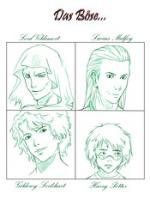 Cover: Das Böse hat viele Gesichter
