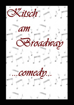 Cover: Kitsch am Broadway -comedy edition-